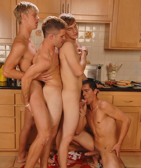 The kitchen the orgy